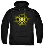 Hoodie: Green Lantern - Yellow Glow Pullover Hoodie