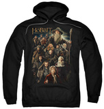 Hoodie: The Hobbit: An Unexpected Journey - Somber Company Pullover Hoodie