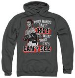 Hoodie: Muhammad Ali - Can't Hit Pullover Hoodie