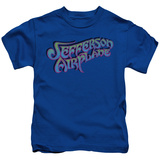 Youth: Jefferson Airplane - Gradient Logo T-Shirt