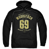 Hoodie: Woodstock - White Lake T-shirts