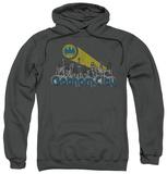 Hoodie: Batman - Gotham City Distressed Pullover Hoodie
