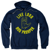 Hoodie: Star Trek - Live Long Hand Shirts