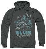 Hoodie: Elvis Presley - 68 Leather Pullover Hoodie