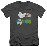 Woodstock - Perched V-Neck T-shirts