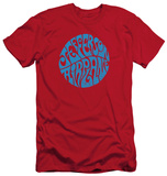Jefferson Airplane - Round Logo (slim fit) T-shirts