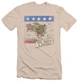 Jefferson Airplane - Baxter's Cover (slim fit) T-shirts