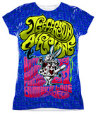 Juniors: Jefferson Airplane - White Rabbit T-shirts