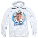 Hoodie: Love Boat - I'm Your Captain Pullover Hoodie