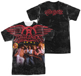 Aerosmith - Stage (Front/Back Print) T-Shirts