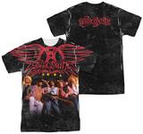 Aerosmith - Stage (Front/Back Print) T-Shirts