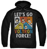 Hoodie: Voltron - Force Pullover Hoodie