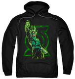 Hoodie: Green Lantern - Fully Charged Pullover Hoodie