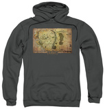 Hoodie: The Hobbit: An Unexpected Journey - Middle Earth Map Pullover Hoodie