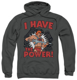 Hoodie: Masters Of The Universe - I Have The Power Pullover Hoodie