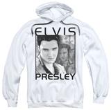 Hoodie: Elvis Presley - Up Front Pullover Hoodie
