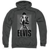 Hoodie: Elvis Presley - Leather Pullover Hoodie