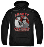 Hoodie: Abbott & Costello - Bad Boy Pullover Hoodie