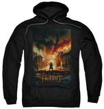 Hoodie: The Hobbit: The Battle of the Five Armies - Smaug Poster Pullover Hoodie