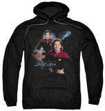 Hoodie: Star Trek - Captain Janeway Pullover Hoodie