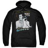 Hoodie: Elvis Presley - Live In Vegas Pullover Hoodie