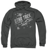 Hoodie: Star Trek - Through Space Pullover Hoodie