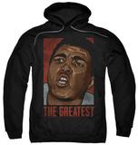 Hoodie: Muhammad Ali - Great Pullover Hoodie
