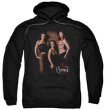 Hoodie: Charmed - Three Hot Witches Pullover Hoodie