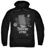 Hoodie: Twilight Zone - Monologue Pullover Hoodie