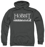 Hoodie: The Hobbit: The Battle of the Five Armies - Walking Logo Pullover Hoodie