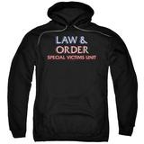 Hoodie: Law & Order: SVU - Logo Pullover Hoodie