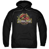 Hoodie: Jurassic Park - Something Has Survived Pullover Hoodie