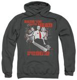 Hoodie: Shaun Of The Dead - Bash Em Pullover Hoodie
