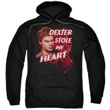 Hoodie: Dexter - Bloody Heart Pullover Hoodie