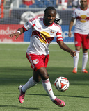 Jun 8, 2014 - MLS: New York Red Bulls vs New England Revolution - Péguy Luyindula Photo by Stew Milne