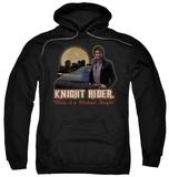 Hoodie: Knight Rider - Full Moon Pullover Hoodie