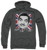 Hoodie: Mr Bean - Long Live Pullover Hoodie