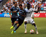 Aug 10, 2014 - MLS: Sporting KC vs Vancouver Whitecaps - Benny Feilhaber Photo by Anne-Marie Sorvin