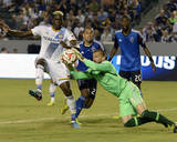 Aug 8, 2014 - MLS: San Jose Earthquakes vs Los Angeles Galaxy - Jon Busch, Gyasi Zardes Photo by Kelvin Kuo