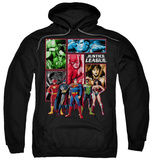 Hoodie: Justice League - Justice League Panels Pullover Hoodie