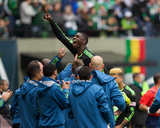 Apr 5, 2014 - MLS: Seattle Sounders vs Portland Timbers - Jalil Anibaba Photo by Jaime Valdez