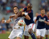 Jul 16, 2014 - MLS: New England Revolution vs Los Angeles Galaxy - Stefan Ishizaki, Jose Goncalves Photo by Kirby Lee