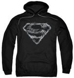 Hoodie: Superman - Smoking Shield Pullover Hoodie