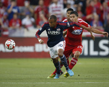 Jul 19, 2014 - MLS: New England Revolution vs FC Dallas - Victor Ulloa, Teal BunBury Photo by Matthew Emmons