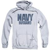 Hoodie: Navy - Husband Pullover Hoodie