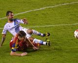 2014 MLS Playoffs: Nov 9, Real Salt Lake vs Los Angeles Galaxy - Juninho, Chris Wingert Photo by Jake Roth