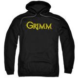 Hoodie: Grimm - Gold Logo Pullover Hoodie