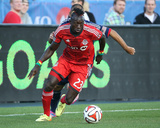 Aug 23, 2014 - MLS: Chicago Fire vs Toronto FC - Dominic Oduro Photo by Tom Szczerbowski