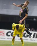 Mar 22, 2014 - MLS: Philadelphia Union vs Columbus Crew - Hector Jimenez, Aaron Wheeler Photo by Trevor Ruszkowski