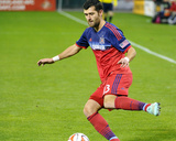 Oct 18, 2014 - MLS: Chicago Fire vs D.C. United - Gonzalo Segares Photo by Brad Mills
